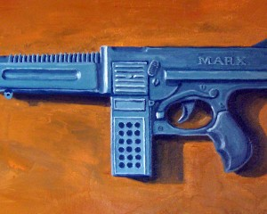Blue Machine Gun